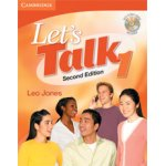 画像: Let's Talk 2nd edition level 1 Student Book with Self -study Audio CD