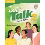 画像: Let's Talk 2nd edition level 2 Student Book with self-study audio CD
