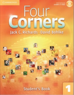 画像1: Four Corners 1 Student Book with Self-study CD-ROM