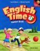 画像: English Time (2nd Edition) Level 1 Student Book with Student CD