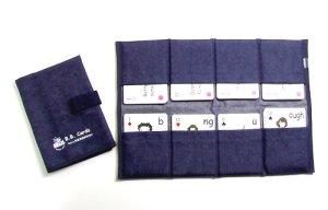 画像1: BBカード用ケース デニム地