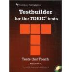 画像: Testbuilder for the TOEIC tests Student Book with CD