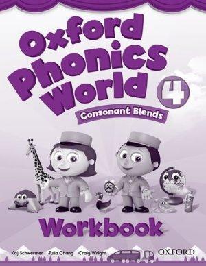 画像1: Oxford Phonics World  4 Consonant Blends Workbook