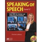 画像: Speaking of Speech Level 2 Student Book with DVD