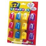 画像: EZ Stampersインク付きスタンプ メッセージ