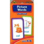画像: Picture Words  School Zone Flash Card