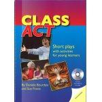 画像: Class Act photocopiable text with audio CD