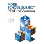 画像: More School Subject Reading 2nd edition Level 2 Student Book with Workbook and Hybrid CD