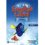 画像: English Land 2nd Edition Level 1 Student Book with CDs