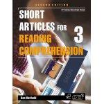 画像: Short Articles for Reading Comprehension 3 Student Book 2nd edition