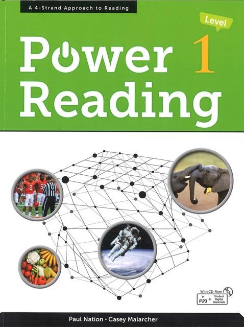 画像: 中学生-大学生向けリーディング教材Power Reading
